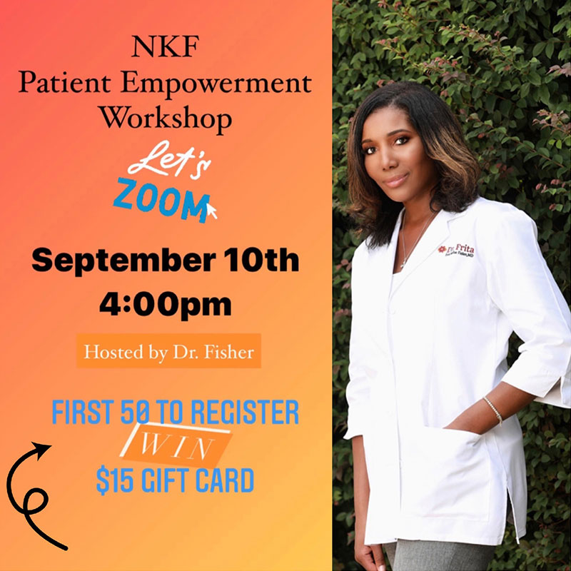 NKF Patient Empowerment Workshop
