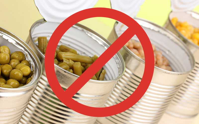 How to reduce sodium in canned vegetables